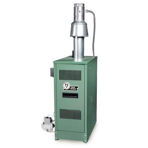 CLW 148,000/189,000 BTU Output, Oil Fired Water Boiler (Dual Firing)