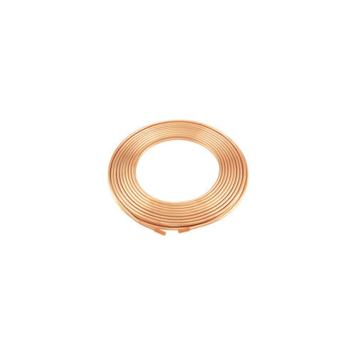 "3/8"" x 60' Type K Copper Tubing Coil"