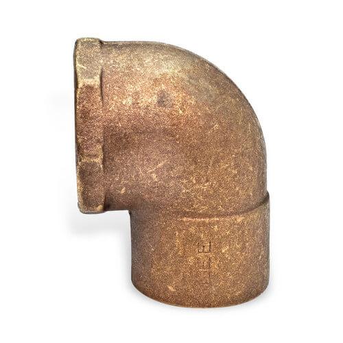 """1/2"""" Copper 90° Long Turn Elbow (FTGxFTG)"""