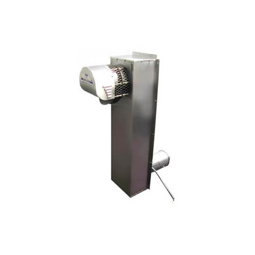 "4"" Stainless Steel Vent Riser w/ Power Venter (170,000 BTU)"
