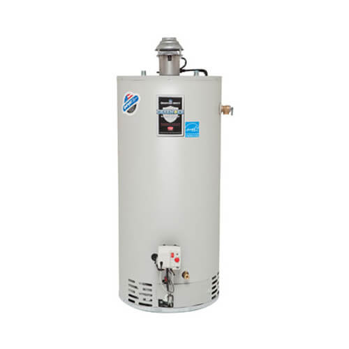 50 Gallon - 40,000 BTU Defender Safety System Damper Atmospheric Vent High EF Energy Saver Residential Water Heater (Nat Gas)