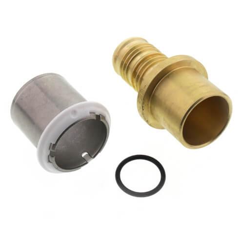 D4517575 uponor wirsbo d4517575 3 4 pex al pex for Pex pipe vs copper