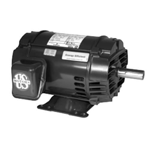 D5p2h us motors d5p2h 3 phase general purpose motor for 5 hp 1800 rpm motor