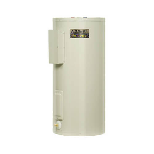 40 Gal. Dura-Power DEN Upright Electric Heater (12 kW 480V) Product Image