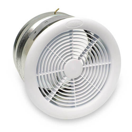 "RVF Series Exterior Wall Mount Exhaust Fan, 4"" Duct (124 CFM)"