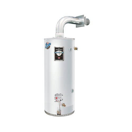 48 Gallon - 48,000 BTU Defender Safety System High Input Direct Vent Energy Saver Residential Water Heater (LP Gas)