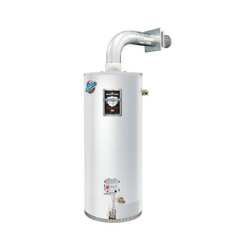 40 Gallon - 38,000 BTU Defender Safety System Direct Vent Energy Saver Residential Water Heater (Nat Gas)