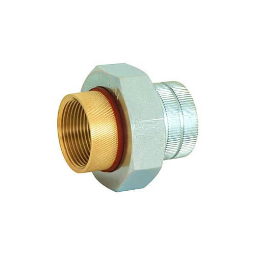 "1-1/4"" Female x BPT Dielectric Union"