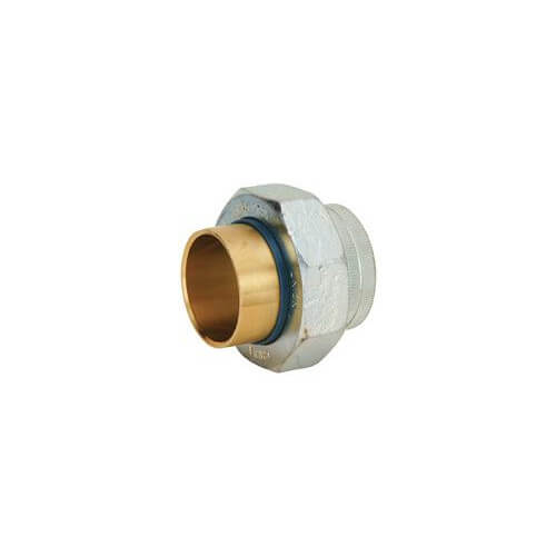 "1-1/2"" x 1-1/4"" Copper Coupling"