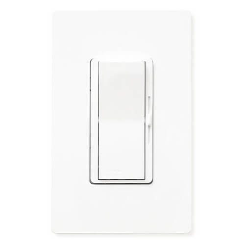 Diva Single Pole 1000VA(800W) Dimmer with Locator Light (White)