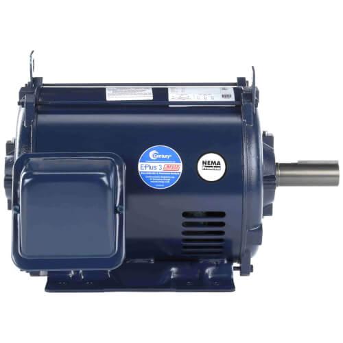 E451m2 century e451m2 1 5 8 odp motor 15 hp 1800 for 5 hp 1800 rpm motor