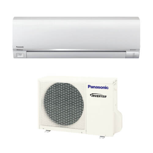 e9rkua panasonic e9rkua 9 000 btu ductless single zone split system wall mounted heat pump. Black Bedroom Furniture Sets. Home Design Ideas