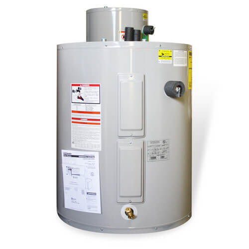 50 Gallon ProMax Residential Electric Water Heater - Lowboy Top Connect Model