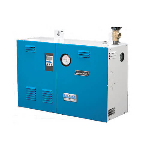 EH-12M2, 41,000 BTU Output, 12KW Single Phase Three Element Electric Boiler w/ Electronic Boiler Control