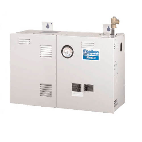 EH-8S, 27,000 BTU Output, 8KW Single Phase Two Element Electric Boiler Product Image