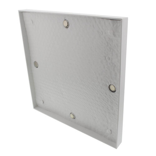 Insulated All-In-One Sidewall Magnetic Vent Cover (Covers 4 Sizes)