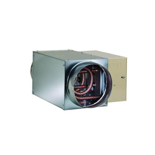 In Line Duct Fan Heater : Em wx fantech quot electric in line duct heater