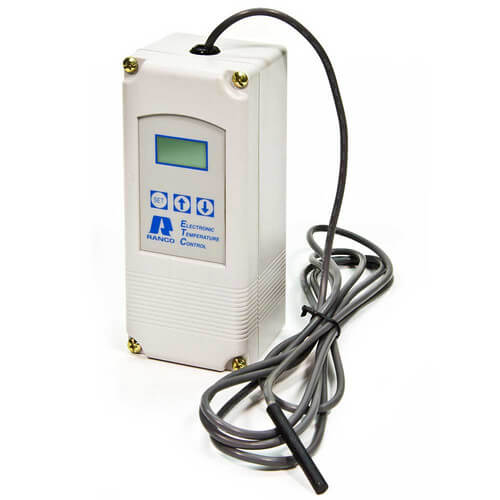 Single Stage ETC Temperature Control w/ Sensor (120/240V Input) - Includes 8' Cord