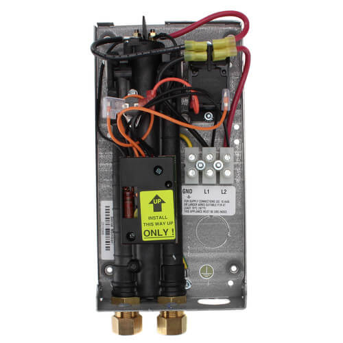 EX35 Flow Controlled Electric Tankless Water Heater w/ Bottom Connections