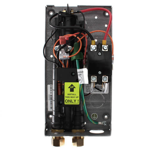 EX8208 Flow Controlled Electric Tankless Water Heater w/ Bottom Connections Product Image