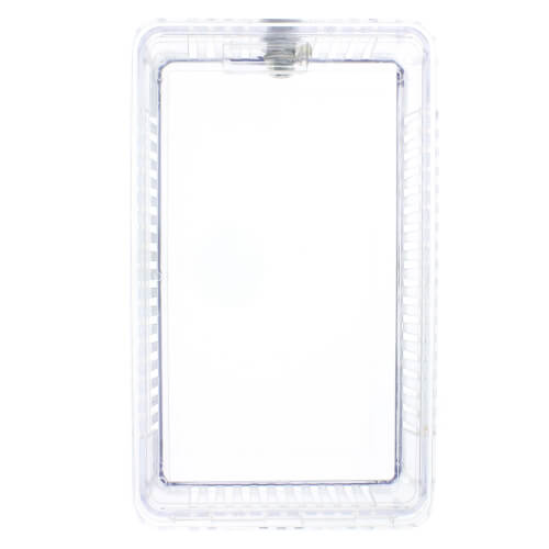 Clear Plastic Thermostat Guard For Use With Comfort-Set II Series