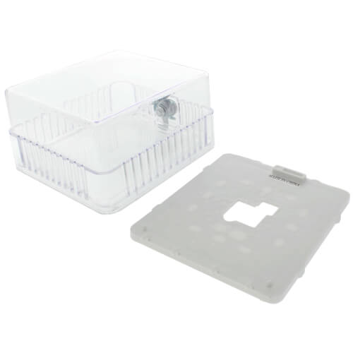 Clear Plastic Thermostat Guard for White Rodgers Thermostats