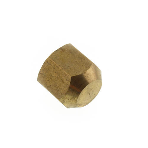 """(40-4) 1/4"""" Brass Flare Cap Product Image"""
