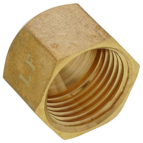 "(40-4) 1/4"" Brass Flare Cap"