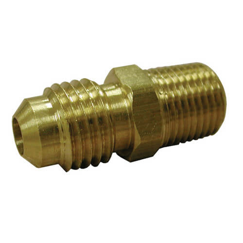 "(42-6) 3/8"" Brass Flare Union"