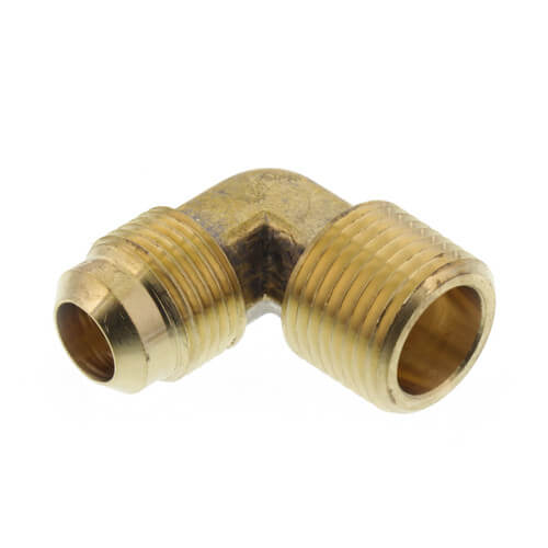 "(49-88) 1/2"" Flare x 1/2"" MIP Brass Elbow Product Image"