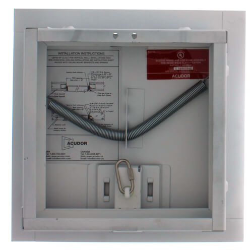 Fire Rated Access Doors : Fb acudor quot fire rated