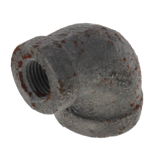 "1/4"" x 1/8"" Black 90° Elbow Product Image"