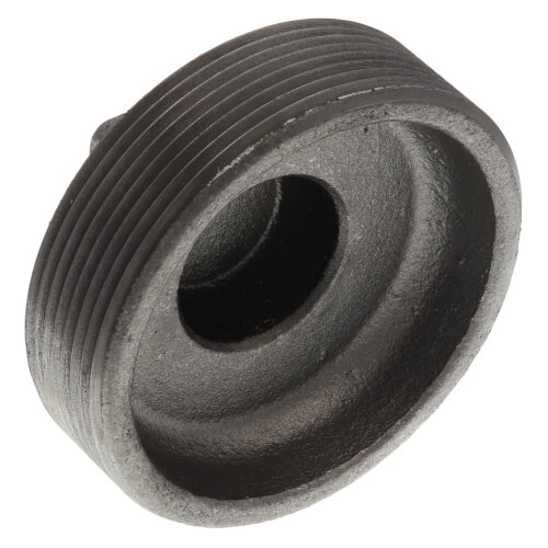 "3-1/2"" Black Regular Cored Plug Product Image"