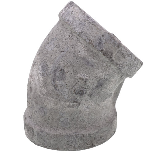 "1/8"" Galv 45° Elbow Product Image"