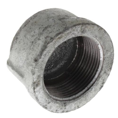 "1-1/4"" Galv Cap Product Image"