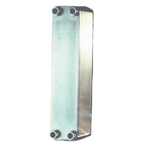 "60 Plate, 2"" Threaded TTP Brazed Plate Heat Exchanger (10"" x 20"")"