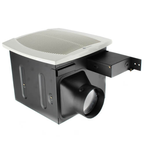 Quiet Duct Fan : Fq fantech series quiet ceiling mount