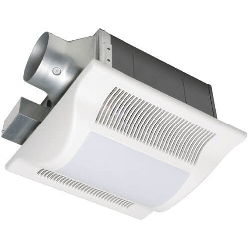 WhisperFit-Lite 50 CFM Ceiling Ventilation Fan w/ Light