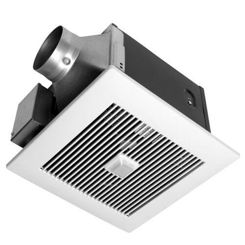 WhisperGreen 80 CFM Ceiling Ventilation Fan w/ Built-in Controls & Motion Sensor