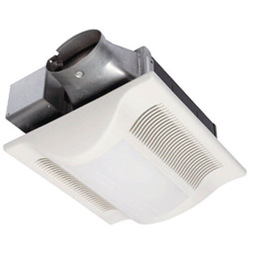 WhisperValue-Lite 100 CFM Super Low Profile Ceiling Ventilation Fan w/ Light