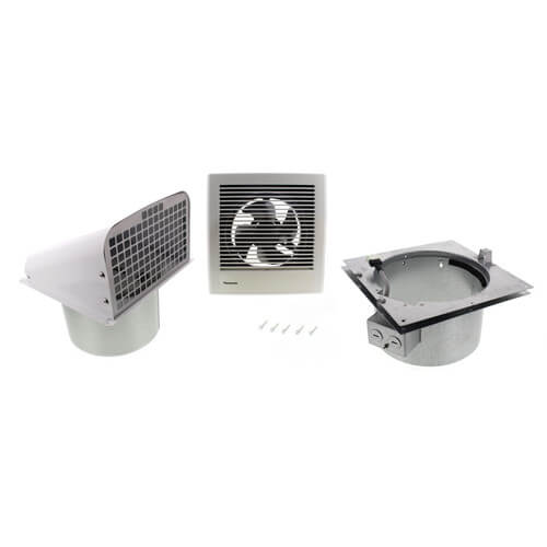 Through Wall Ventilation Fan : Fv wq panasonic whisperwall cfm through