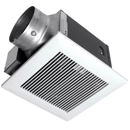 WhisperGreen 130 CFM Ceiling Ventilation Fan w/ Built-in Controls