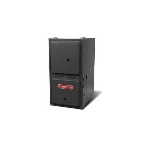 goodman 80 000 btu furnace. 80,000 btu 96% efficiency, 1 stage burner, multi-speed blower, downflow goodman 80 000 btu furnace