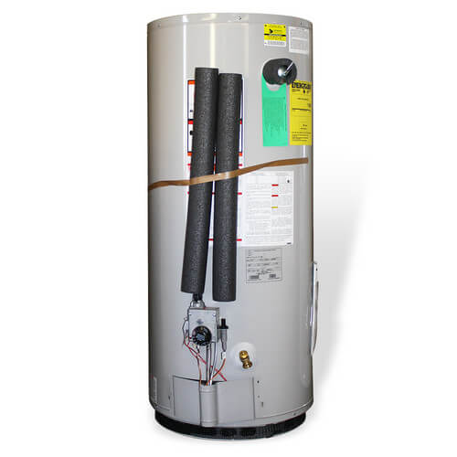 47 Gallon - Lowboy Energy Saver Electric Residential Water Heater (w/ Insulation Jacket)
