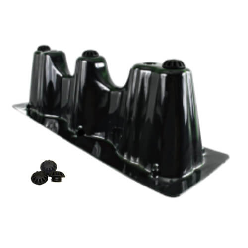 "23"" x 7"" Goliath Furnace Risers w/ Vibration Isolators"
