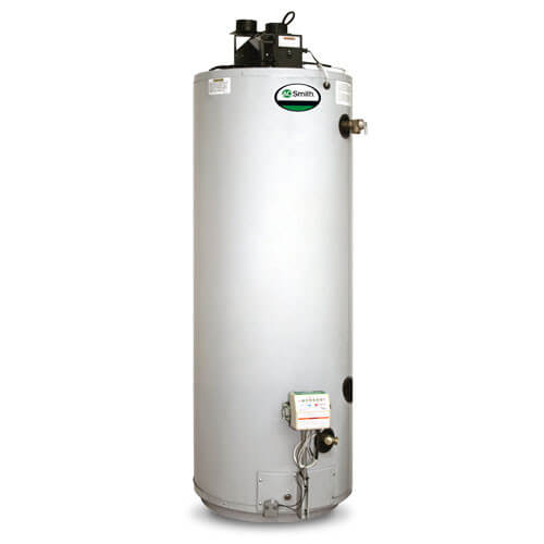 "75 Gallon ProMax Power Direct Vent Residential Water Heater, w/ 5' of 3"" CPVC Vent Pipe"