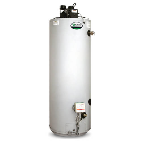 "75 Gallon ProMax Power Direct Vent Residential Water Heater, w/ 5' of 3"" CPVC Vent Pipe (LP Gas)"