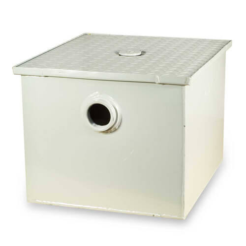 30# Grease Trap, 15gpm (Threaded)