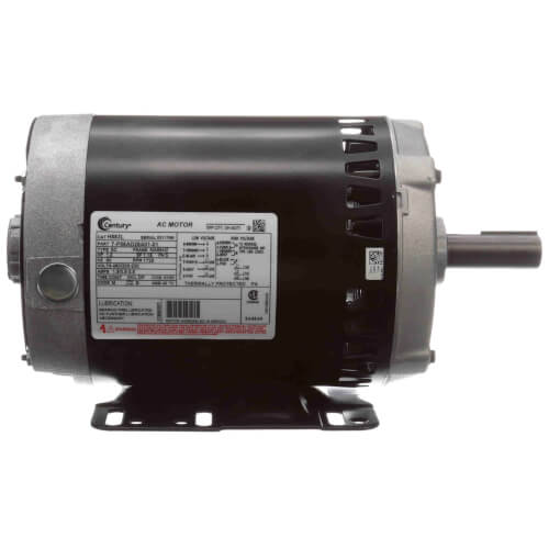 H883l century h883l 6 1 2 psc motor 1 hp 1800 rpm for 1 3 hp psc motor