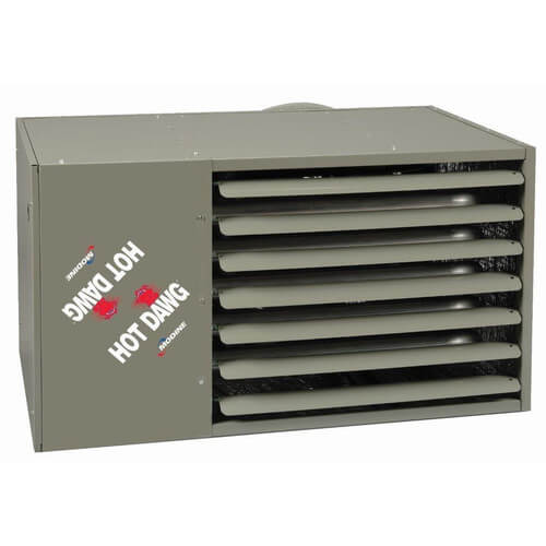 PDP200 Vertical Power Vented Propeller Unit Heater - 200,000 BTU